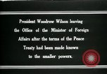 Image of Woodrow Wilson Paris France, 1919, second 12 stock footage video 65675026971