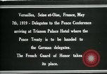 Image of Marshal Foch Versailles Siene et Oise France, 1919, second 4 stock footage video 65675026972