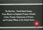 Image of David Lloyd George Paris France, 1919, second 1 stock footage video 65675026975