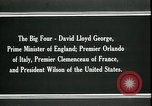 Image of David Lloyd George Paris France, 1919, second 2 stock footage video 65675026975
