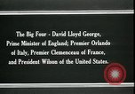 Image of David Lloyd George Paris France, 1919, second 3 stock footage video 65675026975