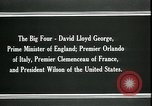 Image of David Lloyd George Paris France, 1919, second 5 stock footage video 65675026975