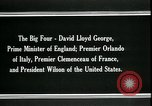 Image of David Lloyd George Paris France, 1919, second 7 stock footage video 65675026975