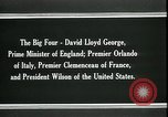 Image of David Lloyd George Paris France, 1919, second 8 stock footage video 65675026975