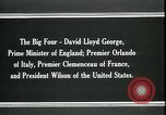 Image of David Lloyd George Paris France, 1919, second 10 stock footage video 65675026975