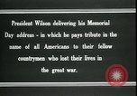 Image of Woodrow Wilson Suresnes France, 1919, second 2 stock footage video 65675026979