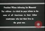 Image of Woodrow Wilson Suresnes France, 1919, second 4 stock footage video 65675026979