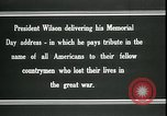 Image of Woodrow Wilson Suresnes France, 1919, second 5 stock footage video 65675026979