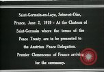 Image of Georges Clemenceau Chateau Saint Germain-en-Laye France, 1919, second 5 stock footage video 65675026981