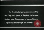 Image of Woodrow Wilson sightseeing in Belgium Adinkerke Belgium, 1919, second 8 stock footage video 65675026985