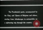 Image of Woodrow Wilson sightseeing in Belgium Adinkerke Belgium, 1919, second 10 stock footage video 65675026985