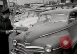 Image of pock marks on windshields Seattle Washington USA, 1954, second 10 stock footage video 65675026993
