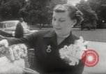 Image of Mrs Eisenhower Washington DC USA, 1954, second 9 stock footage video 65675027001
