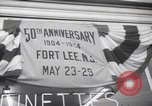 Image of double anniversary celebration Fort Lee New Jersey USA, 1954, second 12 stock footage video 65675027003