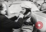 Image of boy on a motorcycle France, 1954, second 8 stock footage video 65675027004