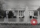 Image of President Eisenhower Washington DC White House USA, 1954, second 5 stock footage video 65675027006