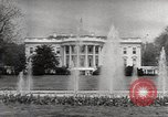 Image of President Eisenhower Washington DC White House USA, 1954, second 7 stock footage video 65675027006