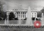 Image of President Eisenhower Washington DC White House USA, 1954, second 8 stock footage video 65675027006