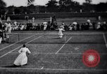 Image of fashion in tennis London England United Kingdom, 1965, second 7 stock footage video 65675027010