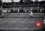 Image of fashion in tennis London England United Kingdom, 1965, second 8 stock footage video 65675027010