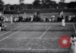 Image of fashion in tennis London England United Kingdom, 1965, second 9 stock footage video 65675027010