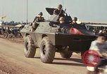 Image of V-100 armored car Saigon Vietnam, 1967, second 3 stock footage video 65675027029