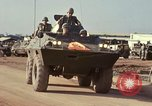 Image of V-100 armored car Saigon Vietnam, 1967, second 9 stock footage video 65675027029