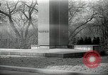 Image of President Wilson's statue Czechoslovakia, 1938, second 1 stock footage video 65675027045