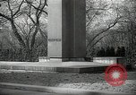 Image of President Wilson's statue Czechoslovakia, 1938, second 2 stock footage video 65675027045