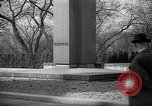 Image of President Wilson's statue Czechoslovakia, 1938, second 3 stock footage video 65675027045