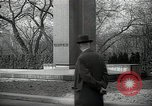 Image of President Wilson's statue Czechoslovakia, 1938, second 4 stock footage video 65675027045