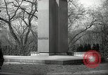 Image of President Wilson's statue Czechoslovakia, 1938, second 6 stock footage video 65675027045