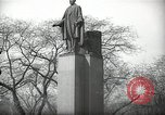 Image of President Wilson's statue Czechoslovakia, 1938, second 8 stock footage video 65675027045