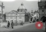 Image of old buildings Prague Czechoslovakia, 1938, second 1 stock footage video 65675027048