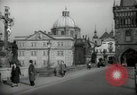 Image of old buildings Prague Czechoslovakia, 1938, second 2 stock footage video 65675027048