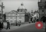 Image of old buildings Prague Czechoslovakia, 1938, second 3 stock footage video 65675027048