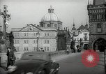 Image of old buildings Prague Czechoslovakia, 1938, second 4 stock footage video 65675027048