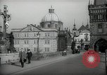 Image of old buildings Prague Czechoslovakia, 1938, second 7 stock footage video 65675027048