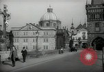 Image of old buildings Prague Czechoslovakia, 1938, second 8 stock footage video 65675027048