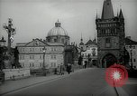 Image of old buildings Prague Czechoslovakia, 1938, second 11 stock footage video 65675027048
