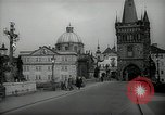 Image of old buildings Prague Czechoslovakia, 1938, second 12 stock footage video 65675027048