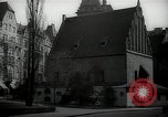 Image of Prague Jewish Town Hall Prague Czechoslovakia, 1938, second 3 stock footage video 65675027053