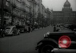 Image of Street Vaclavske Prague Czechoslovakia, 1938, second 1 stock footage video 65675027055
