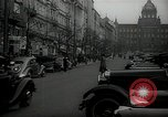 Image of Street Vaclavske Prague Czechoslovakia, 1938, second 2 stock footage video 65675027055