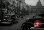 Image of Street Vaclavske Prague Czechoslovakia, 1938, second 3 stock footage video 65675027055