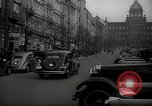 Image of Street Vaclavske Prague Czechoslovakia, 1938, second 4 stock footage video 65675027055