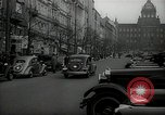 Image of Street Vaclavske Prague Czechoslovakia, 1938, second 5 stock footage video 65675027055