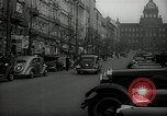 Image of Street Vaclavske Prague Czechoslovakia, 1938, second 6 stock footage video 65675027055