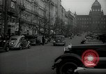 Image of Street Vaclavske Prague Czechoslovakia, 1938, second 7 stock footage video 65675027055