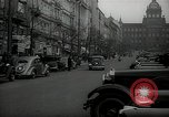 Image of Street Vaclavske Prague Czechoslovakia, 1938, second 8 stock footage video 65675027055